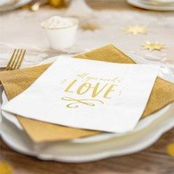 Papierservietten Hochzeit