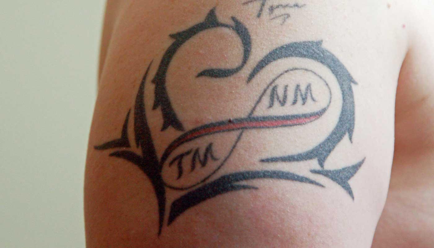Tattoo zur Hochzeit