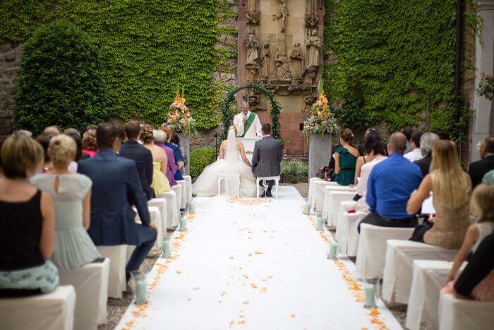 Teppich Läufer Hochzeit