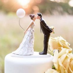 Hochzeit Tortenfigur
