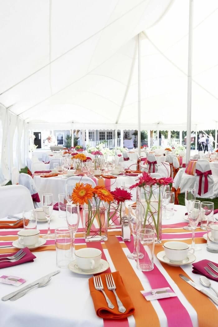 Deko Hochzeitszelt