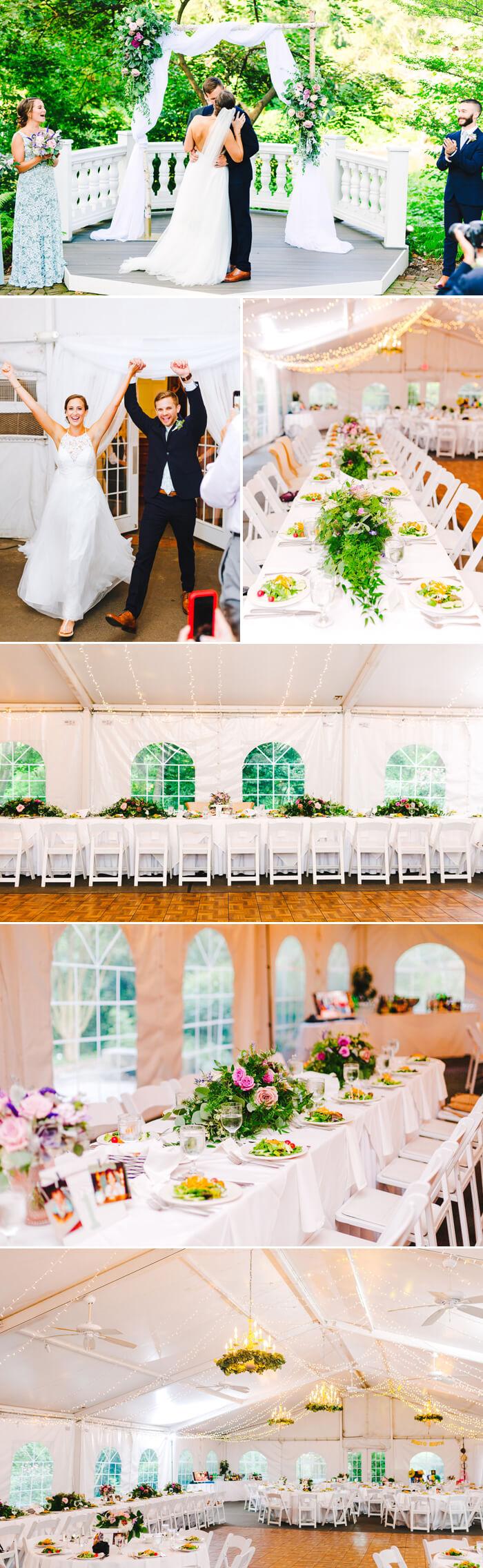 Hochzeit im Zelt feiern