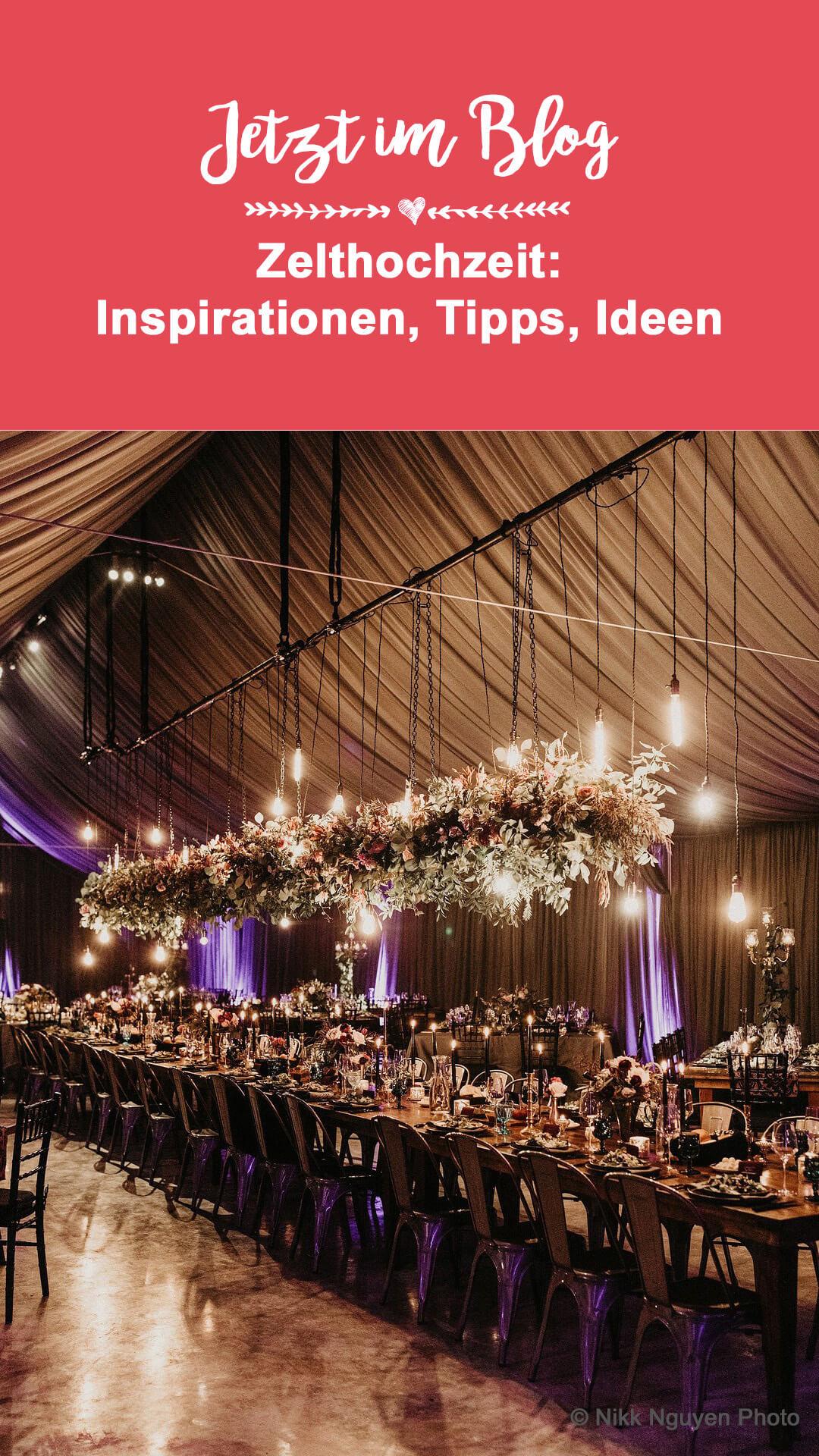 Zelt für Hochzeit mieten