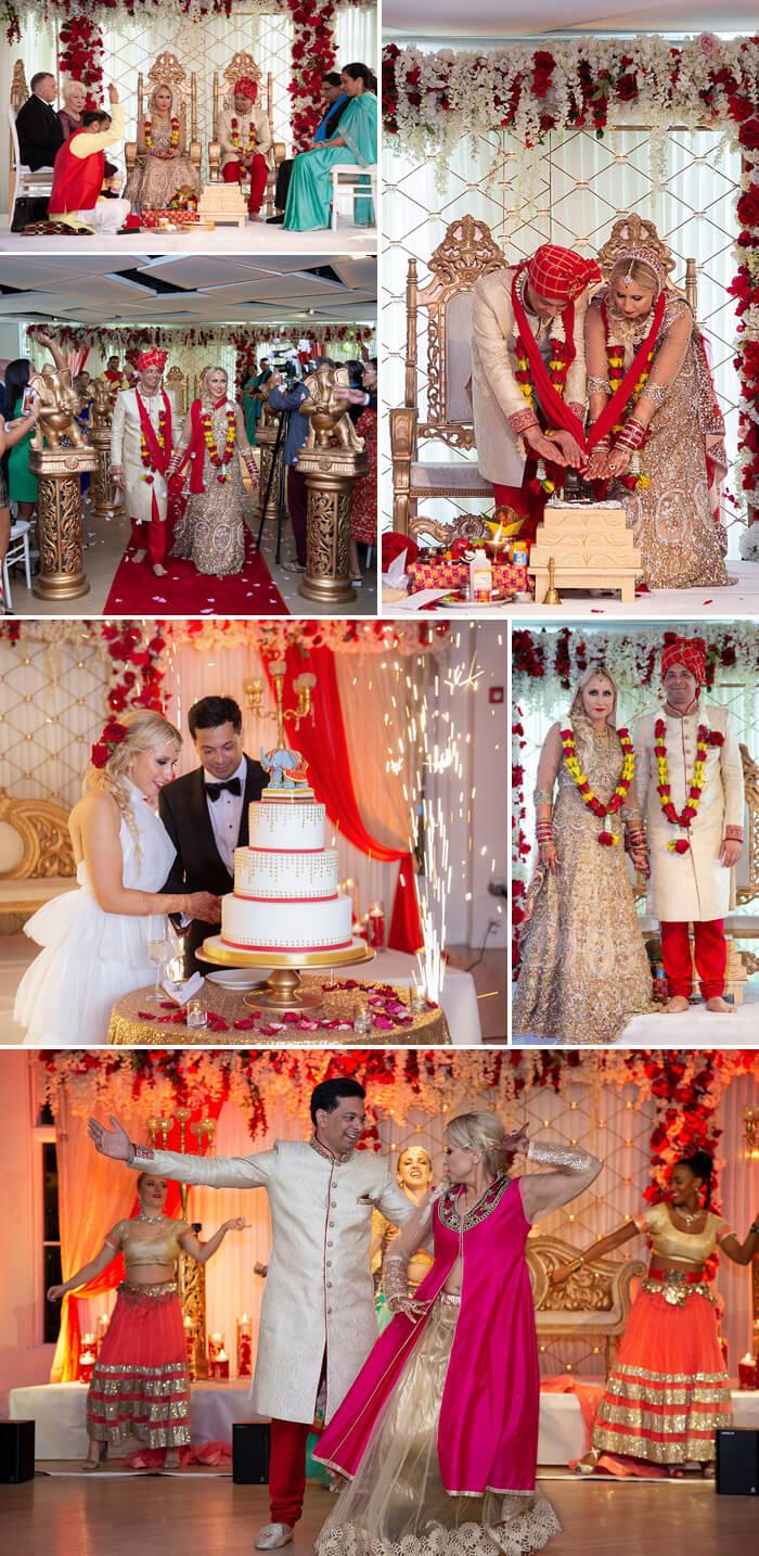 Indische Hochzeit Feier