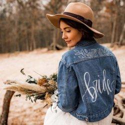 Jeansjacke Bride
