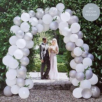 Luftballons Zur Hochzeit So Setzt Ihr Die Himmlisch Frohliche Deko Ein