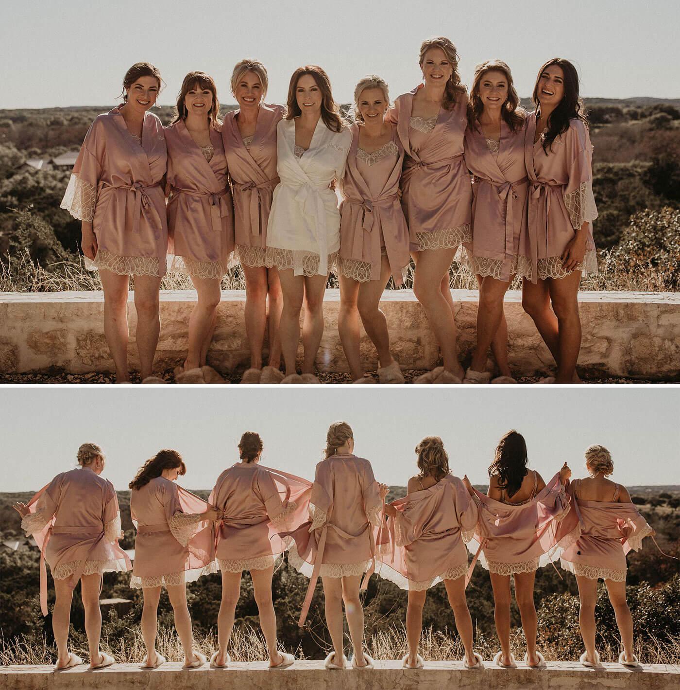 Verrückte Hochzeitsfotos