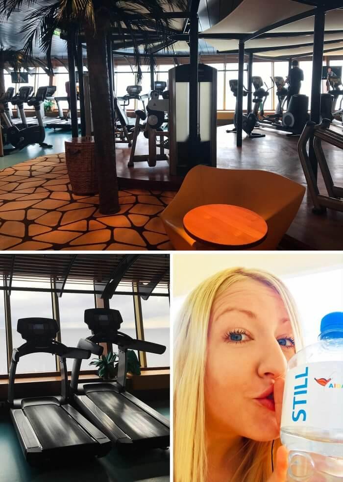 Kreuzfahrt Aida Fitnessstudio