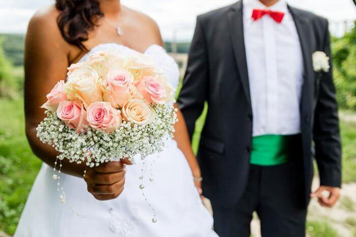 Hochzeitsbilder Brautstrauß
