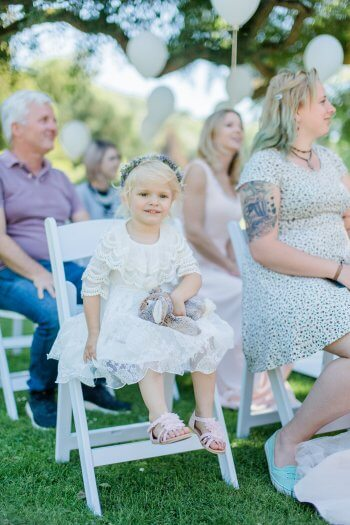 Hochzeitsfotos Blumenkinder