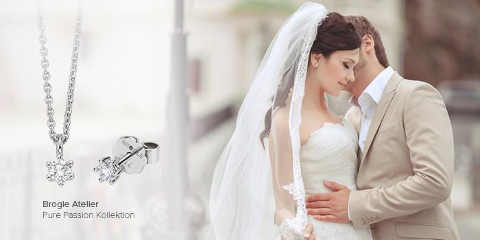 Brautschmuck ohrringe schlicht  Funkelnde Ohrringe für die Braut - Hochzeitsportal24.de