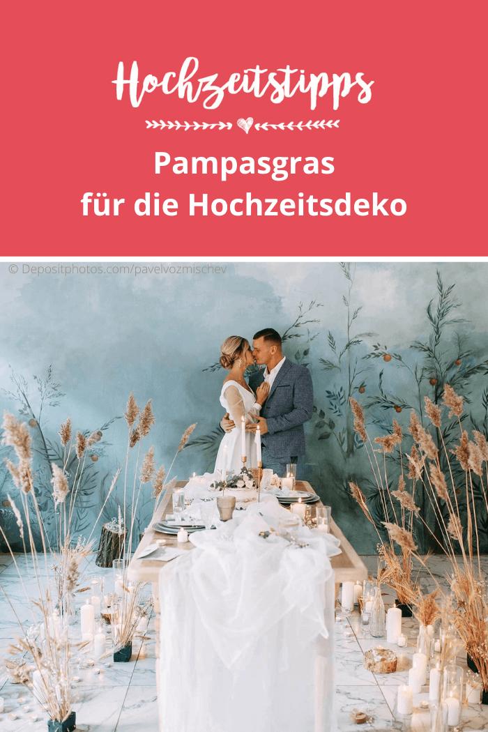 Pampasgras zur Hochzeit