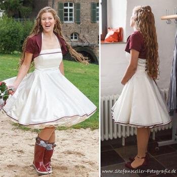 Hochzeitskleid Rockabilly