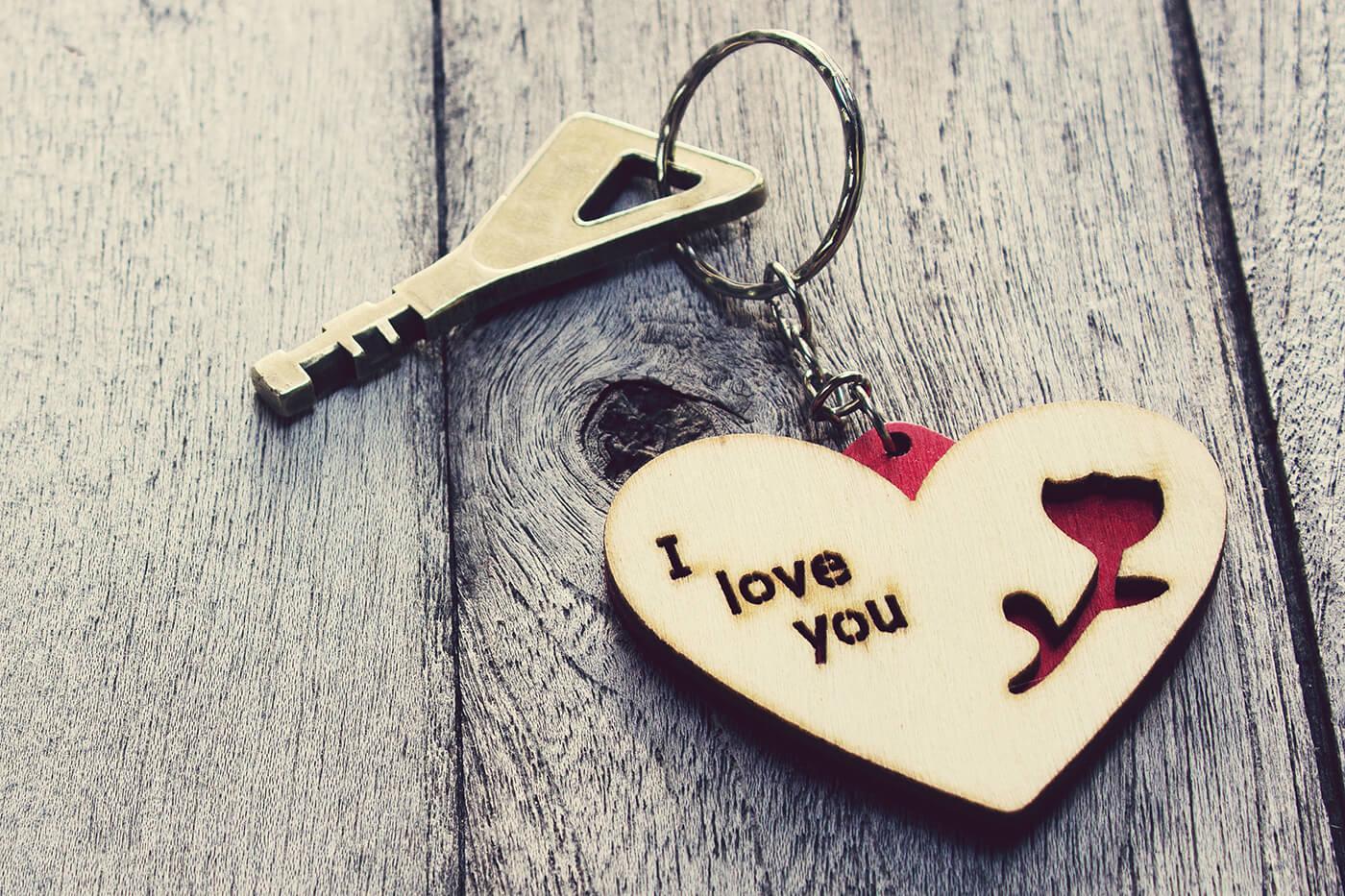 Schlüsselanhänger Liebe