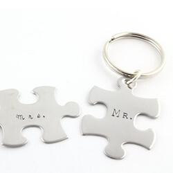 Schlüsselanhänger Mr Mrs