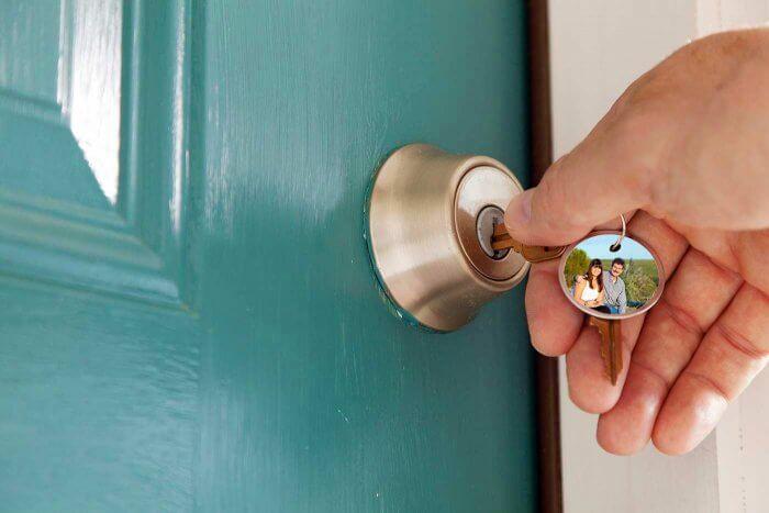 Schlüsselanhänger mit Bild