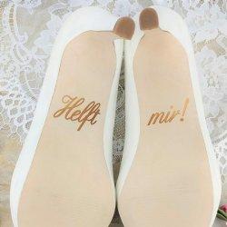 Hochzeit Help me Schuhe