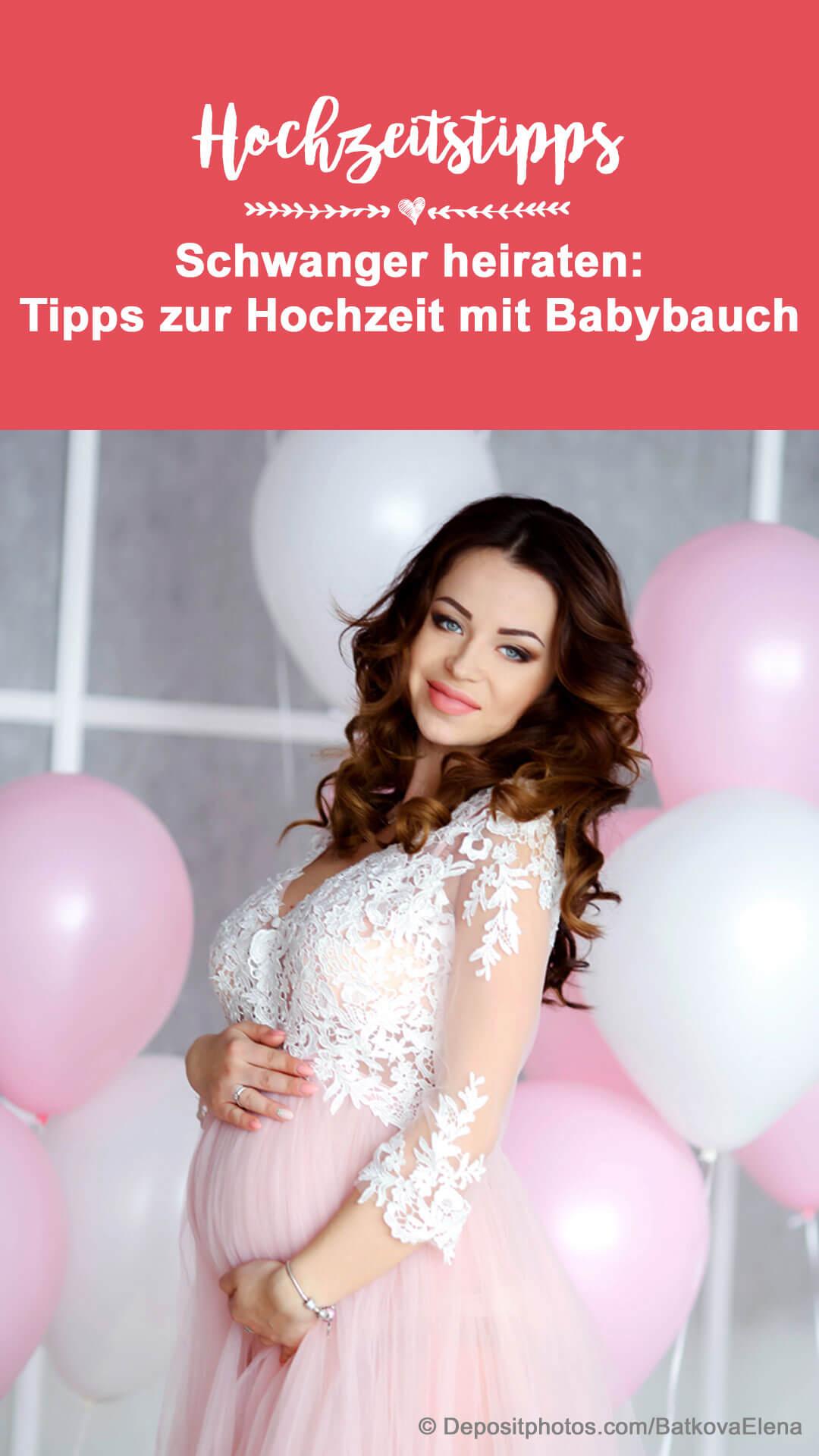 Braut schwanger
