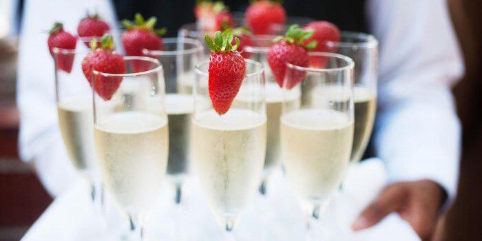 Sektempfang Zur Hochzeit Tipps Ideen Zu Getranken Co