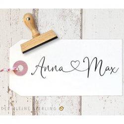 Stempel personalisiert Hochzeit