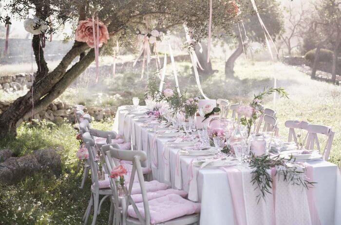Hochzeit Tischdekoration Mustertische