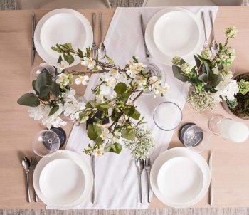 Mustertische Hochzeit Dekoration