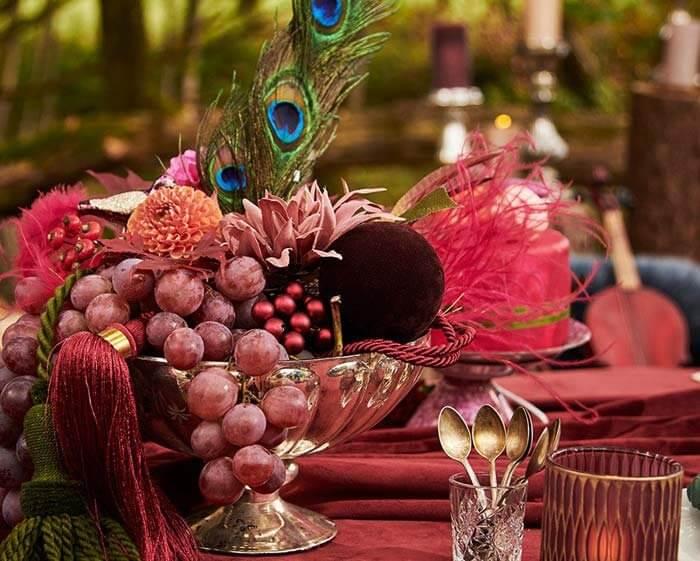 Tischdeko Mustertische Hochzeit