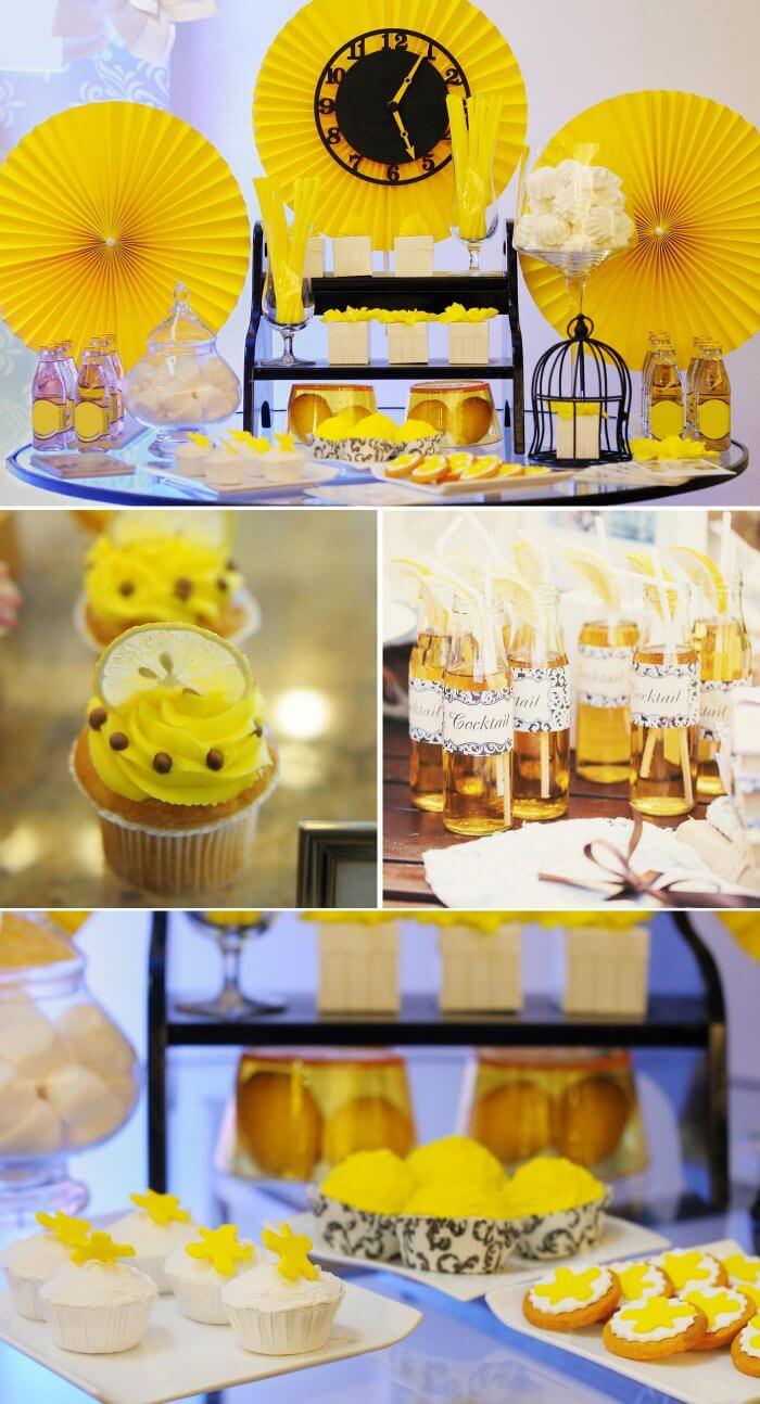 Hochzeitsmotto Zitronen