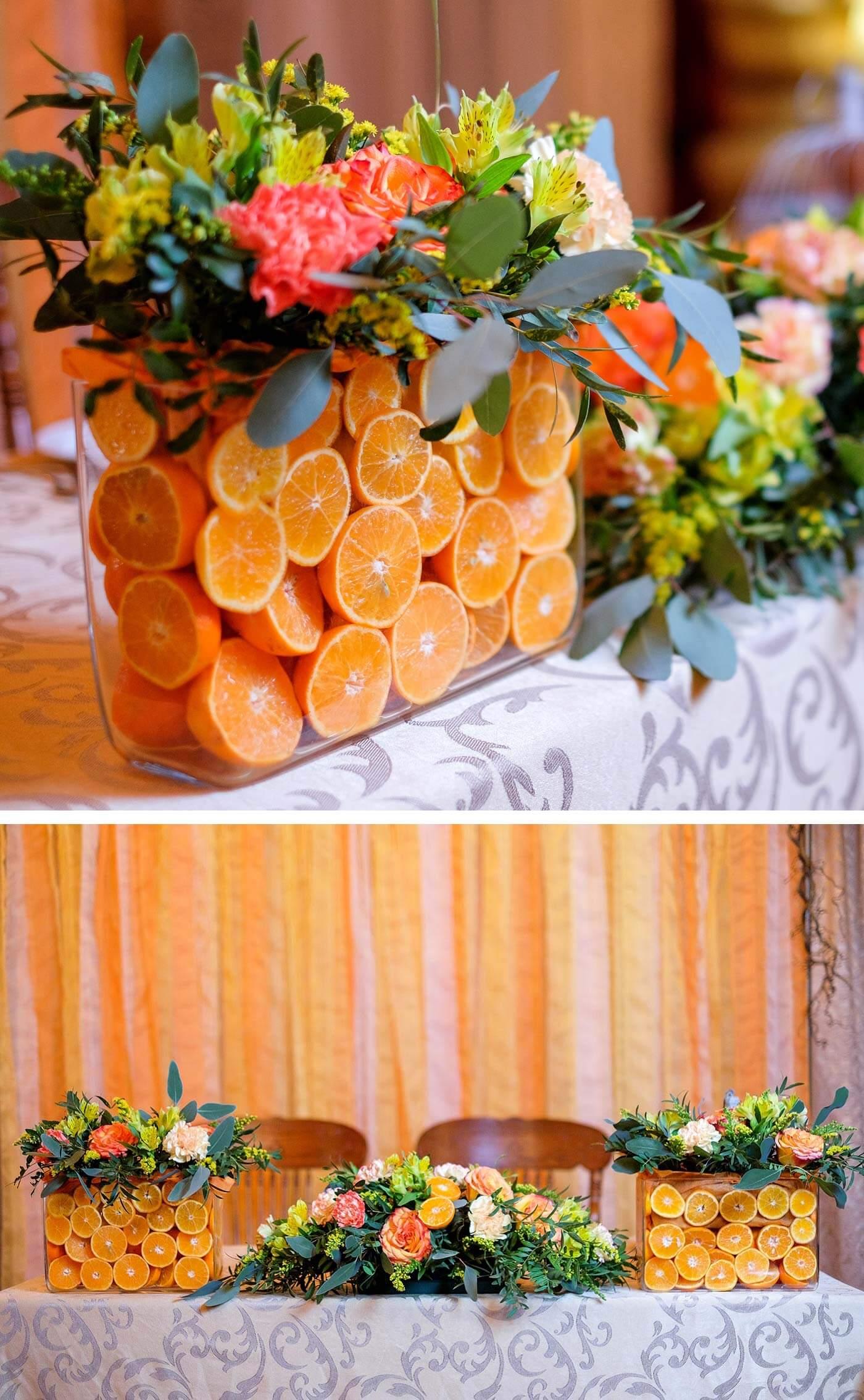 Orange Deko