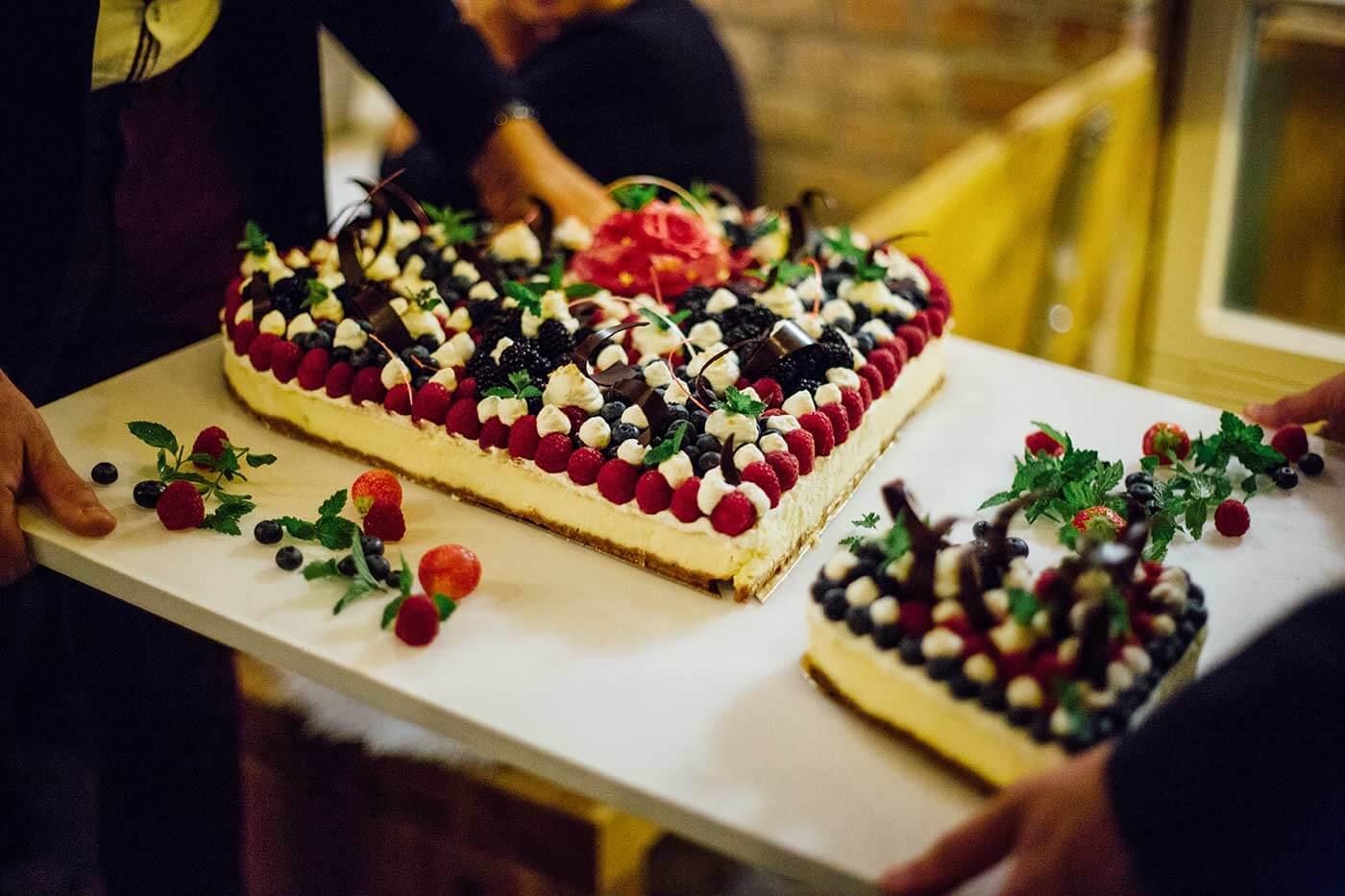 Traufe Torte