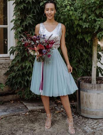 Hochzeitskleid Tüllrock
