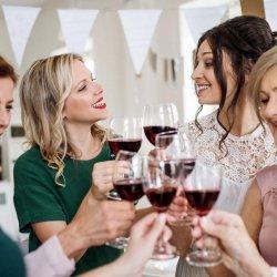 Hochzeit Wein
