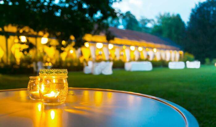 Hochzeit Windlicht