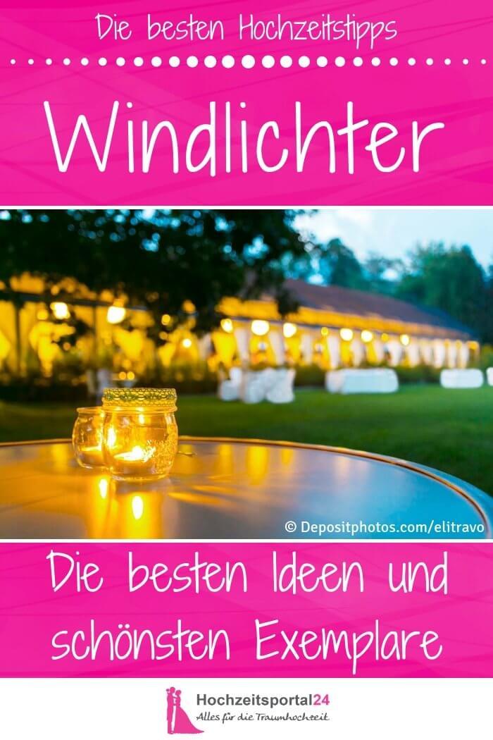 Windlichter Kerzen Hochzeit Deko
