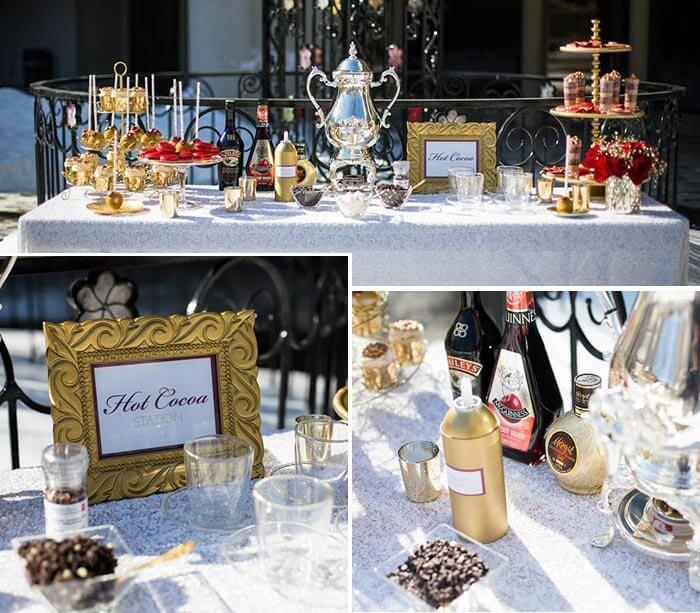 Heiße Schokolade zur Hochzeit