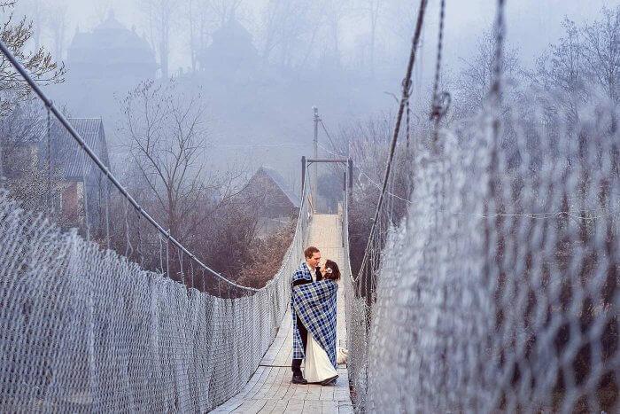 Hochzeitsbilder Winter