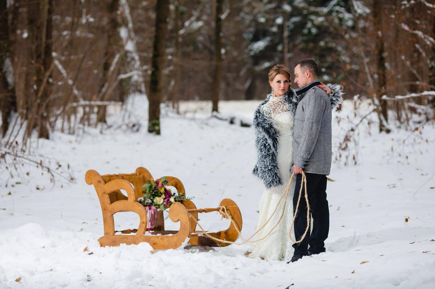 Winterhochzeit Fotos