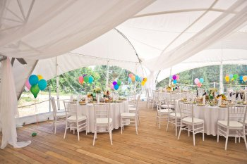 Festzelt mieten Hochzeit
