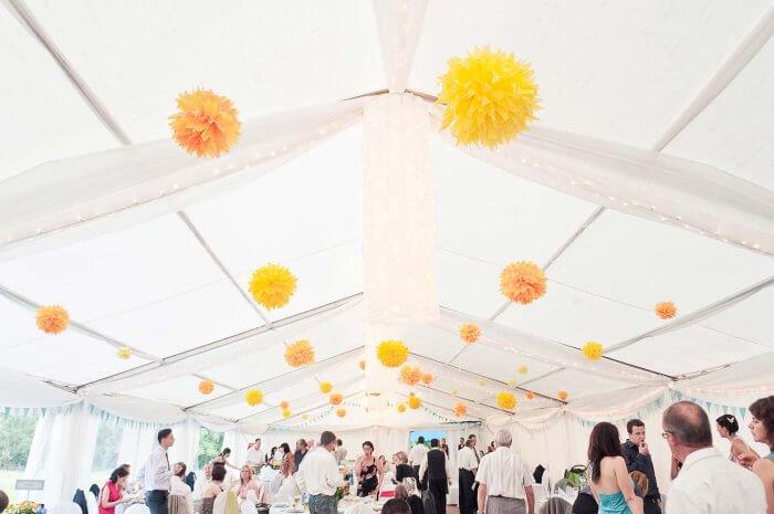 Hochzeit im Zelt