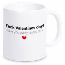 Lustiges Valentinstaggeschenk: Valentinstag Tasse