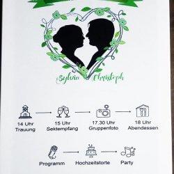 Timeline Hochzeit