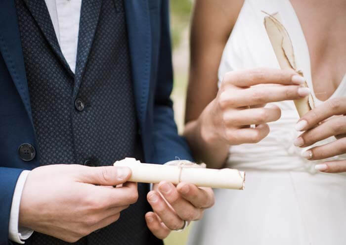 Hochzeit Zeitkapsel