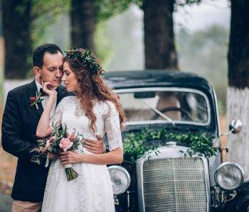 Hochzeitsschmuck Auto
