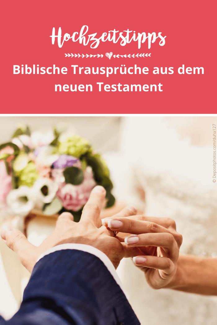 Bibelsprüche zur Hochzeit