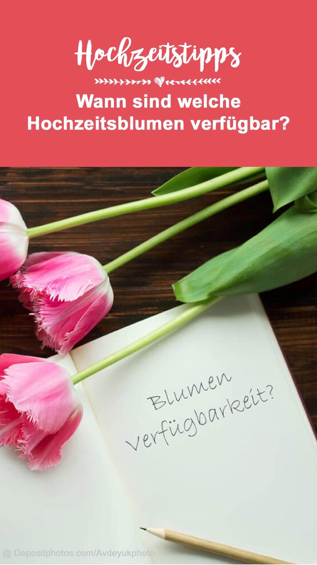 Welche Blumen für Hochzeit im