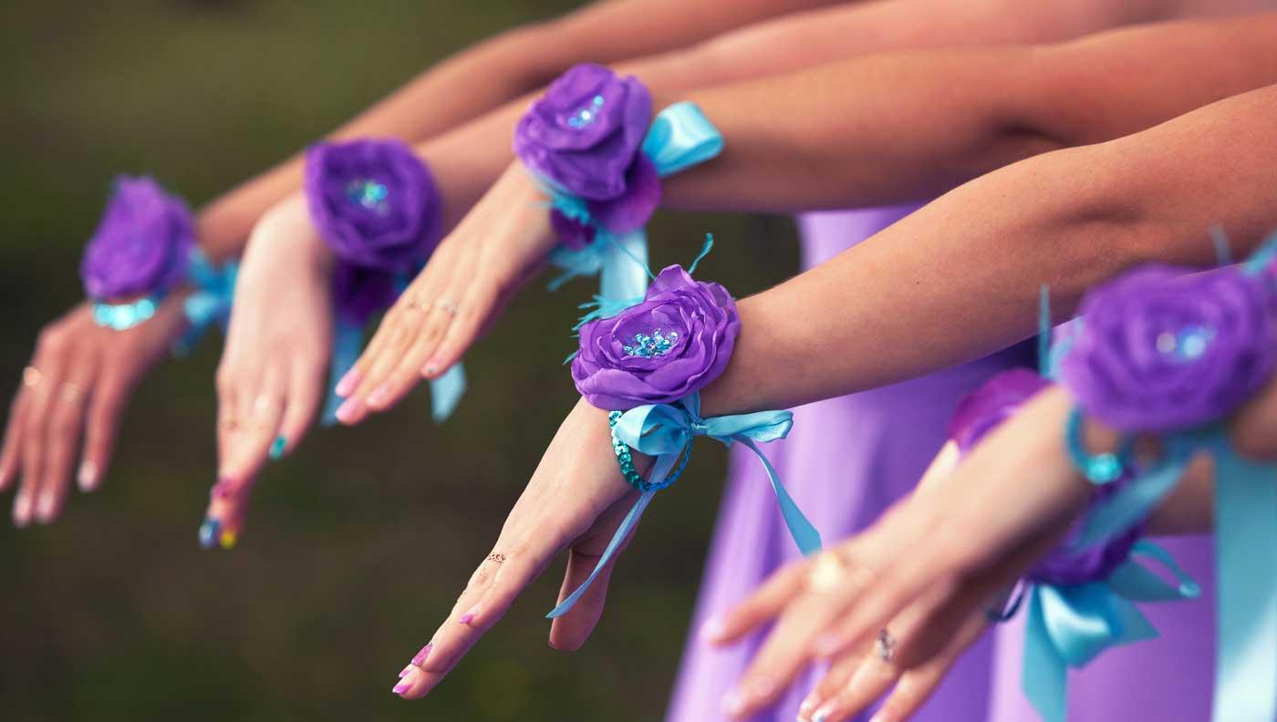 Armband Brautjungfern
