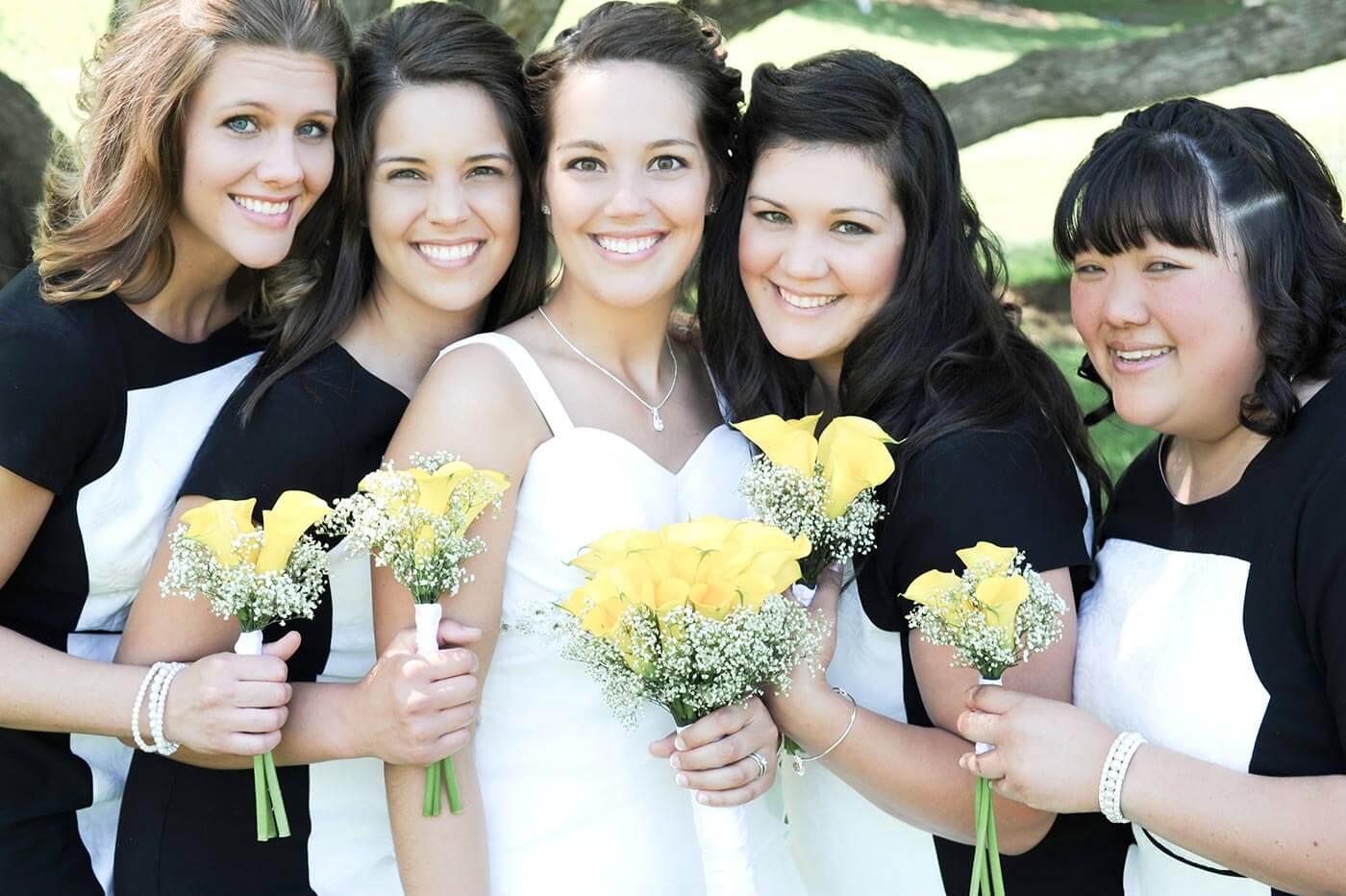 Brautjungfern Strauß