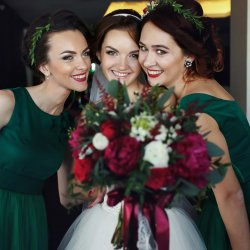 Brautjungfernkleider Grün