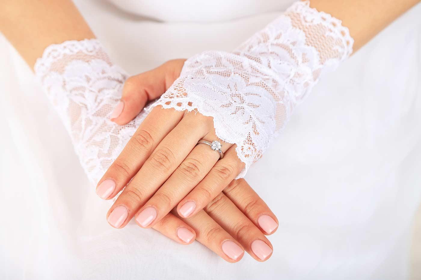 Braut Handschuhe