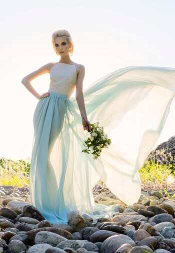 Braut Zweiteiler